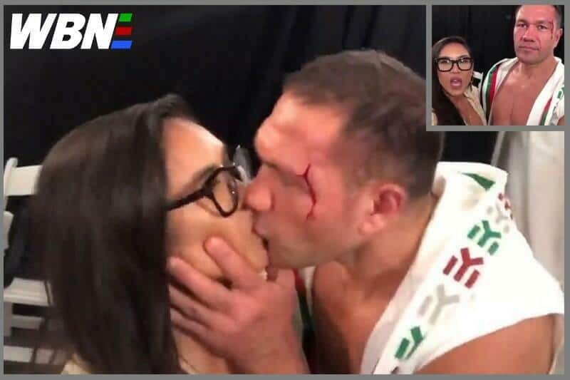 Kubrat Pulev 'forceful kiss' reporter hires R Kelly case