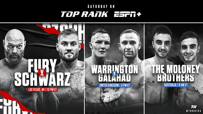 ESPN+ primed for huge weekend of boxing, culminating in