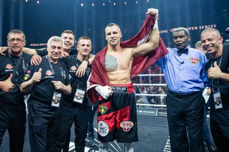 Mairis Briedis fighting for a nation in World Boxing Super Series ...