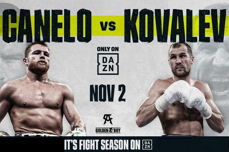 Image result for canelo kovalev""