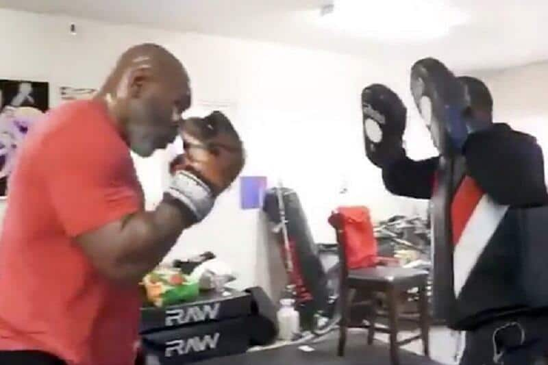 Mike Tyson proves he's serious about comeback with unreal combination