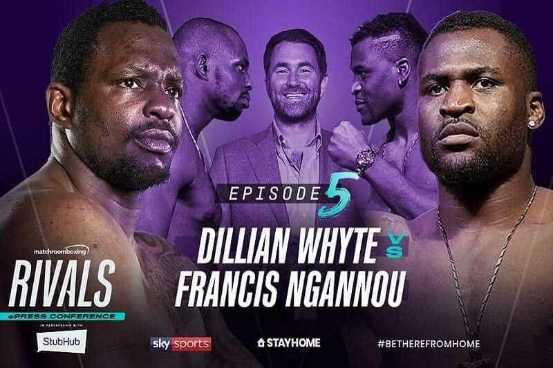 Dillian Whyte vs Francis Ngannou